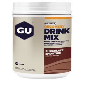GU Energy Recovery Drink Mix - Nutrition sport - Chocolate Smoothie 750g